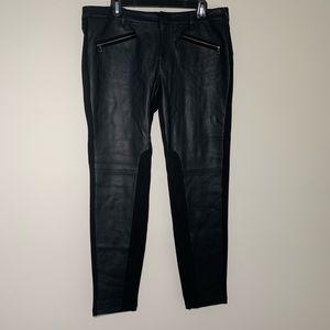 Joe Fresh NWT Faux Leather Skinny Pants